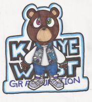 Cute wittle Kanye Bear by DaMee-Momma