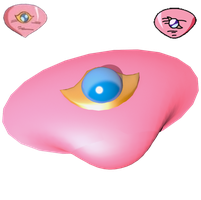Coral-Eye Badge 3D by portadorX