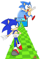 Generations :: Sonic 20th by RiotaiPrower