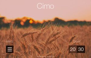 Cimo for XWidget (Mockup) by FenGenzus