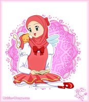 Card Captor Sakura : Let's Read the Quran by spring-sky
