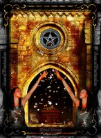 Ace of Pentacles_Blood Money by KYghost