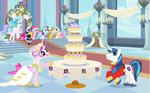 Wedding cake by Yaoipigglet