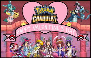 Pokemon Conquest Happy Valentine's Day by gaming123456