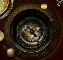 Steampunk Underwidget and Icons by yereverluvinuncleber