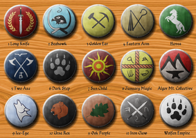 Great Northern Wilderness Icon Collection by FeroceFV