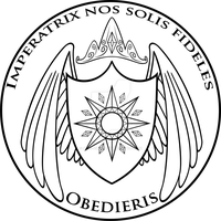 Commission: Solar Empire Shield Coin Design by Akili-Amethyst