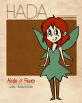 Retro Fairy Poster by Lutih