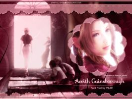 Aerith Gainsborough by areemus