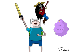 Adventure time The start of a good idea by wilcox6