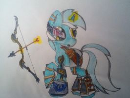 Lyra's bow by Rockethead117