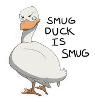 Smug duck is smug by Silvac