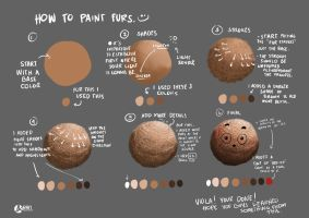 TUTORIAL: How to draw/color furs by unLuckySaturday