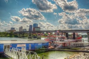 Arkansas River Queen HDR by joelht74