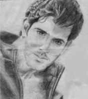 Hrithik Roshan Sketch - Portrait by artistsvalley