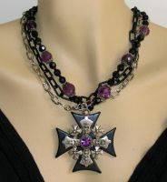 Maltese and chains by bchurch