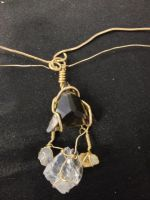 Smokey Quartz Necklace by psycopathdurham