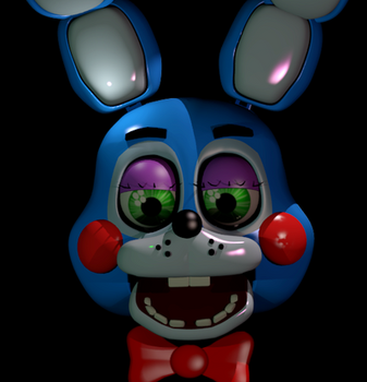 FNaF 2: Toy Bonnie by Apprenticehood