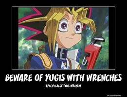 Beware of Yugis with Wrenches by kingdomheartsfangirl