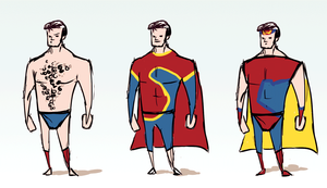 Superman redesigns by kiynley