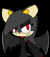 Shade bat heart by marshmellowguineapig