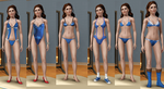 Sims 3 Belle Outfits by Dinalfos5