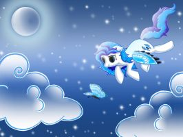 The Night Flight ~ Dedicated to LunarGuard94 by Rainjay-xx