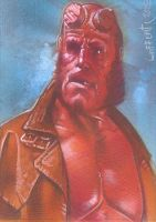Hellboy - ACEO Sketch Card by JeffLafferty
