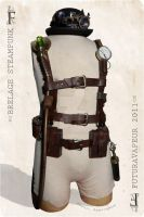 Steampunk Harness by Futuravapeur