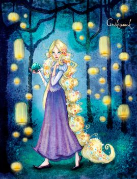 walking through candlelights with pascal by crisquinu