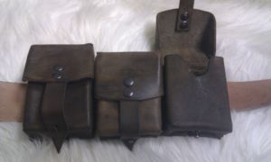 Leather pouch by Holemaker