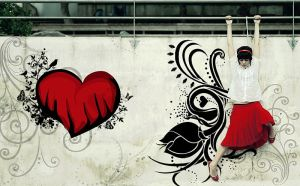 wall of love by semaca2005