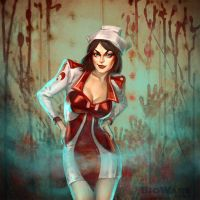 Age of Champions Nurse by anotherdamian
