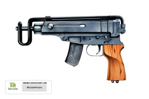 Scorpion SMG by Thieres