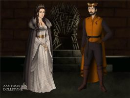 Robert Baratheon and Lyanna Stark by LadyBladeWarAgnel