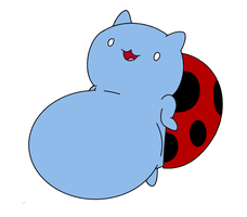Catbug gets fat by FootballLover