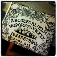 Ouija Board WIP by ShayneOtheDead