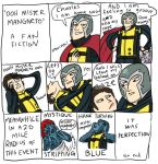 X-men: OOH MISTER MAGNETO by Kumagorochan