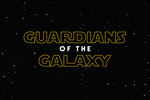 GUARDIANS OF THE GALAXY - Star Wars LOGO by MrSteiners