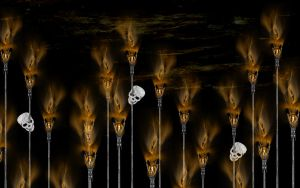 The Torches... - Wallpaper by rockgem