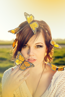 i am the butterfly by KateIndeed