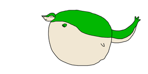 PC: Inflated Snivy by TruePhazonianForce
