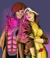 Reilly Brown's Gambit n Rogue by Ielle77