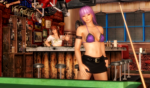 Ayane in the Hottest Day by bstylez