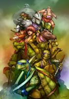 Teenage Mutant Ninja Turtles by DarrenGeers