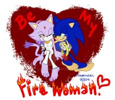 Be My Fire Woman? by Kjrin132