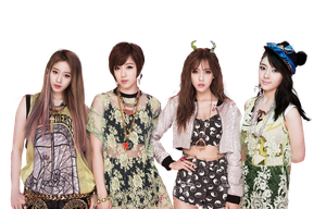 T-ara N4 png [render] by Sellscarol