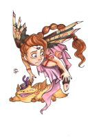 COPIC Pin up : Defying gravity by Sio64