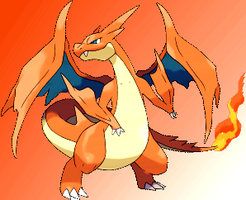Mega Charizard Y by MrZe1598