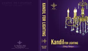 Kandil Catalogue Cover Design by Mood-man